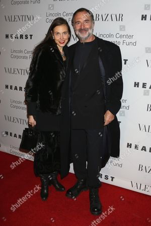 Editorial picture of An Evening honoring Valentino, New York, America - 07 Dec 2015