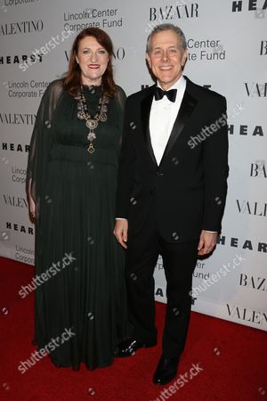 Glenda Bailey and Steve Schwartz