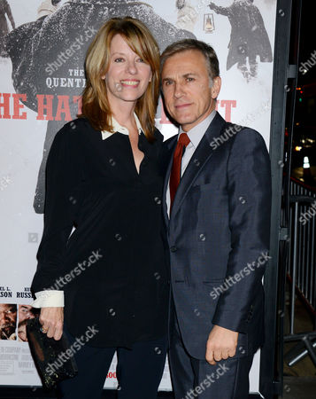 Christoph Waltz and wife Judith Holste