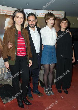 Editorial image of 'L'Attente ' Film Premiere, Paris, France - 07 Dec 2015