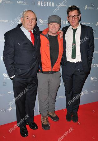Lord John Bird, Peter Mullan and Jake Gavin