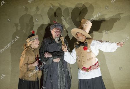 Lauren Fagan as Lila,  Wyn Pencarreg as Lalchand, Ross Ramgobin as Rambashi