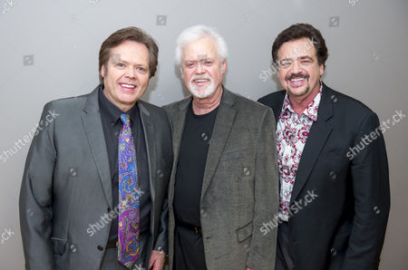 Stock Photo of Jimmy Osmond, Merrill Osmond and Jay Osmond