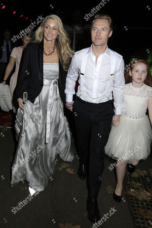 Ronan Keating, Storm Keating and Ali Keating