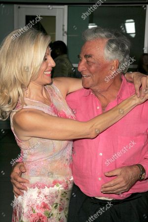 Stock Image of Shera Danese and Peter Falk