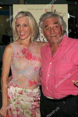 Shera Danese and  Peter Falk