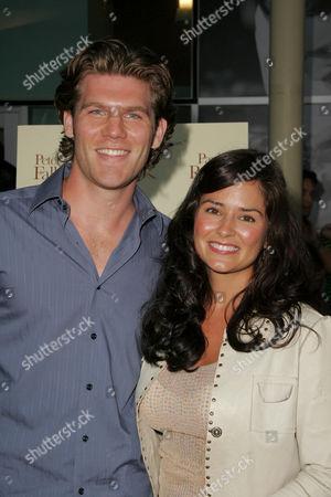 Jake Hanover and Tanya Memme