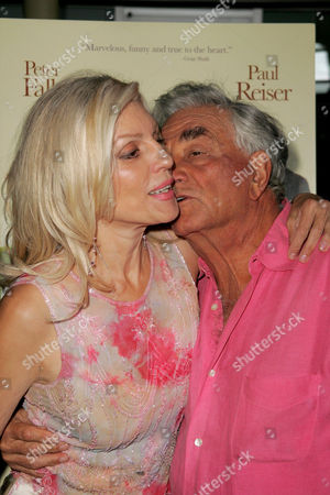 Shera Danese and Peter Falk