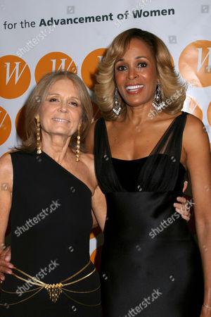Gloria Steinem and Faye Wattleton