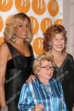 Faye Wattleton, Dr Ruth Westheimer, Joy Behar