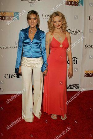 Nadia Dajani and Heather Graham