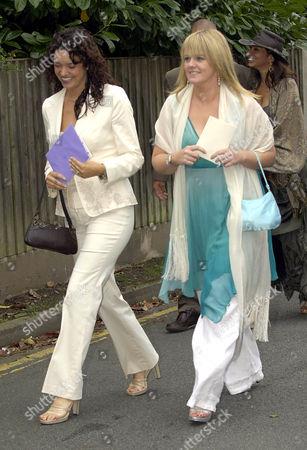 Jennifer James with Sally Lindsay
