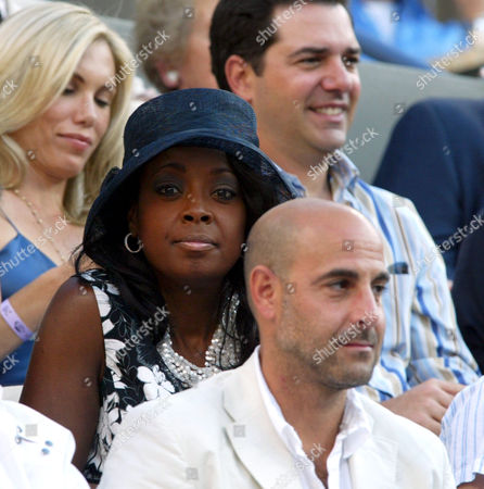 Star Jones and Stanley Tucci