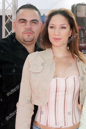 Dominic Colon with Judy Marte at the 'On The Outs' photocall