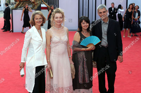 Charlotte Rampling Karen Young, Louise Portal and Laurent Cantet at 'Vers Le Sud' film premiere