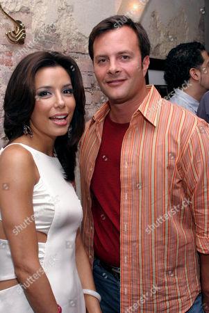 Stock Picture of Eva Longoria and Ivan Bart