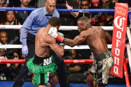 Editorial photo of Daniel Jacobs vs Peter Quillin, WBA Middleweight title fight, Barclays Center New York, America - 05 Dec 2015