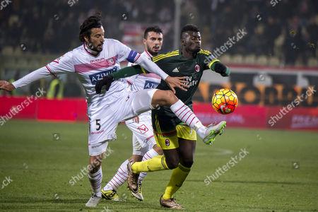 Cristian Zaccardo (Carpi), M'Baye Niang (Milan)