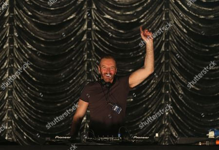 Stock Image of George Bowie, DJ at Radio Clyde 1
