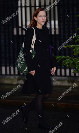 Cameron close aid Kate Fall who is being made a Baroness this afternoon at the house of Lords made by the PM
