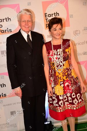 Olafur Ragnar Grimsson and wife, Kathy Calvin (President, United Nations Foundation)