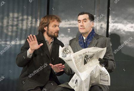 Alec Newman as Kerner, Tim McMullan as Blair