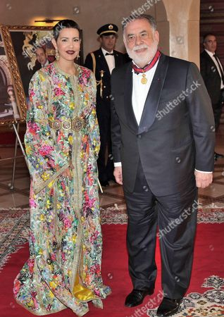 Princess Lalla Meryem and Francis Coppola