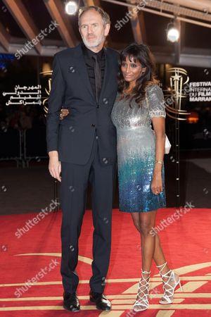 Anton Corbijn and wife Nimi Ponnudurai