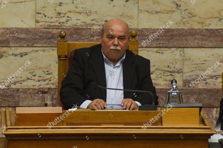 Speaker of Parliament, Nikos Voutsis