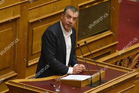 Stavros Theodorakis, chairman of Potami