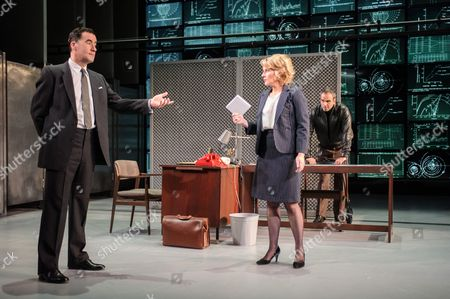 Editorial photo of 'Hapgood', Theatre Photocall, Hampstead Theatre, London, Britain - 08 Dec 2015