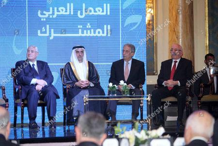 Interim President Adly Mansour