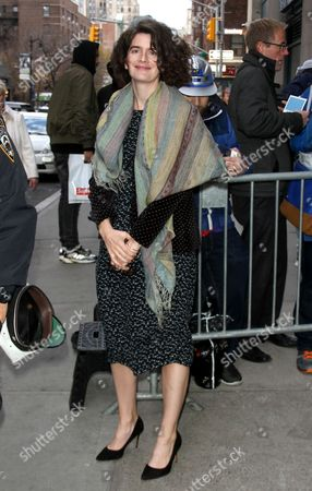Gaby Hoffmann seen out in New York City