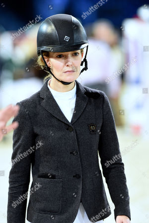 Editorial photo of Longines Masters horse show jumping event, Los Angeles, America - 04 Dec 2015