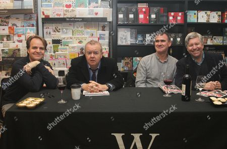 Stock Photo of Nev Fountain, Ian Hislop, Tom Jameson and Nick Newman