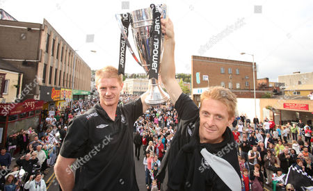 Swansea City Open Top Bus Tour celebrations