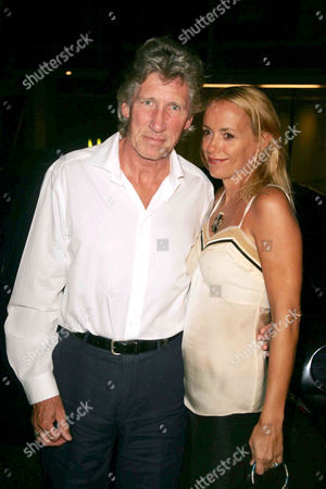 Roger Waters and wife Laurie Durning