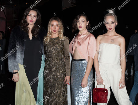 Liza Voloshin, Kate Greer, Mia Moretti and Caitlin Moe
