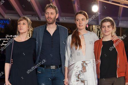 Catherine Salee, Guillaume Senez, Laetitia Dosch and Galatea Bellugi