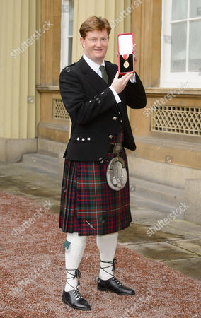 Stock Picture of Sir Danny Alexander - Honour of Knighthood