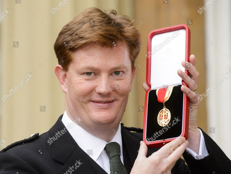 Stock Image of Sir Danny Alexander - Honour of Knighthood