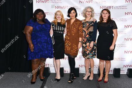 Gabourey Sidibe, Patricia Clarkson, Sarah Barnett, Blythe Danner, Alexis Alexanian