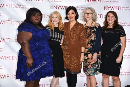 Editorial photo of Women in Film and Television Muse Awards, New York, America - 10 Dec 2015