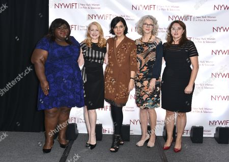 Editorial picture of Women in Film and Television Muse Awards, New York, America - 10 Dec 2015
