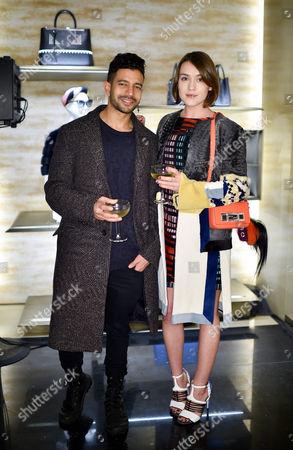 Nik Thakkar and Ella Catliff