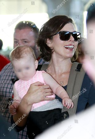 Milla Jovovich and daughter Dashiel Edan Anderson