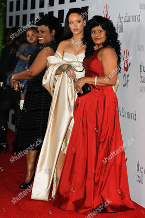 Rihanna, Monica Braithwaite with guests