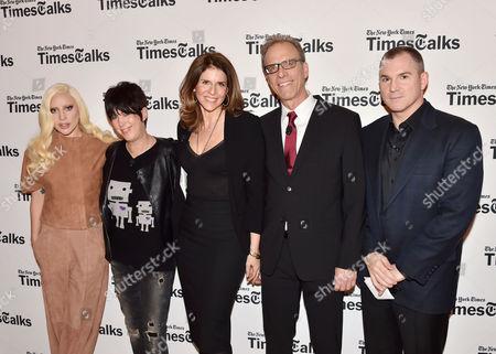 Lady Gaga, Diane Warren, Amy Ziering, Kirby Dick, Frank Bruni