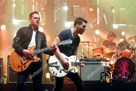 The Courteeners - Daniel 'Conan' Moores, Liam Fray, Michael Campbell