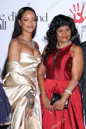 Rihanna and Monica Braithwaite